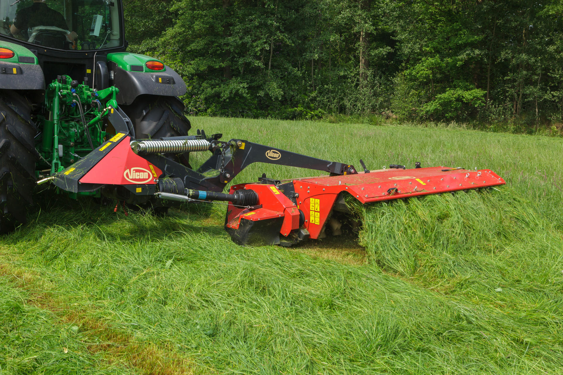 Tractor Rear Disc : Disc mower conditioner vicon extra t r