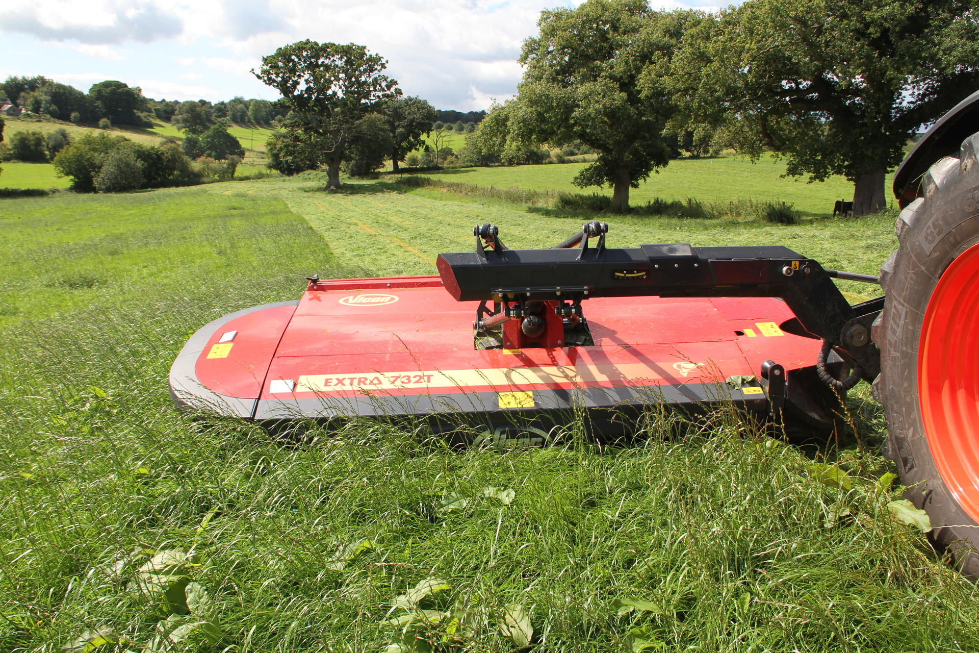 Tractor Rear Disc : Rear mounted conditioner mowers vicon extra t r