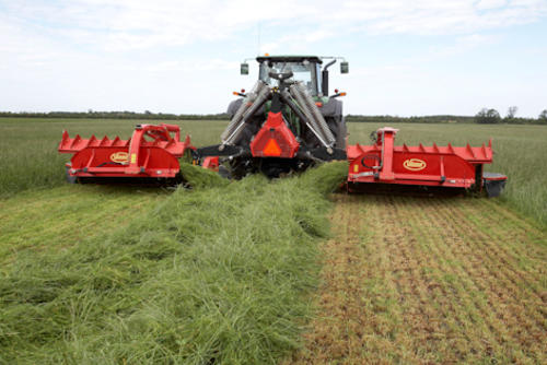 Efficient collection of crop with the swath belt