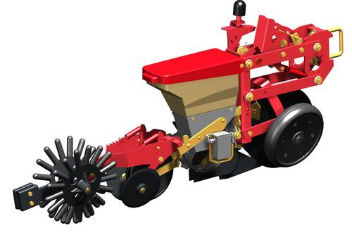 Unicorn - mulch seeding with synchro-drive