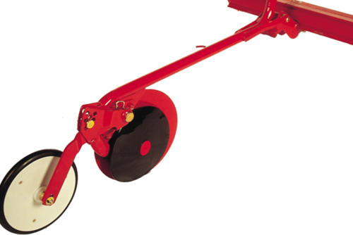 CX-disc coulter with narrow press wheel (26mm)